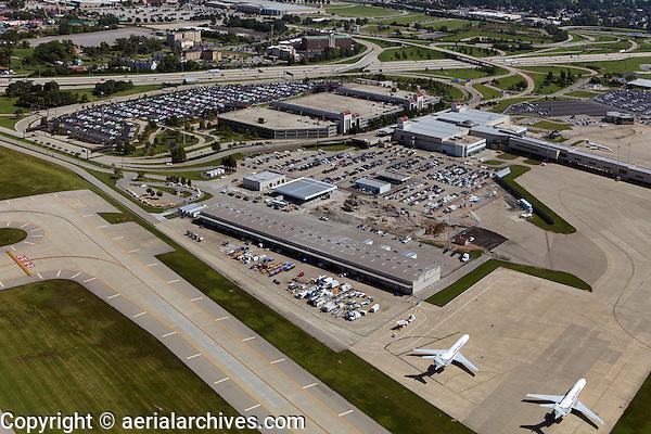 aerial photograph Louisville International airport, Kentucky