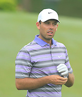 Charl Schwartzel (USA) on the 12th tee during Round 3 of the CIMB Classic in the Kuala Lumpur Golf & Country Club on Saturday 1st November 2014.<br /> Picture:  Thos Caffrey / www.golffile.ie