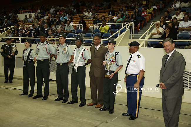 JROTC-CMS Awards sponsored by AT&T and Carolinas Freedom Foundation