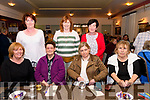 At The Manor inn Killorglin for the Thrashing Cancer Bingo Night<br /> Back L-R Sheila Moriarty, Angela Sheahan & Noreen O'Sullivan.<br /> Front L-R Eileen Blennerhassett, Peggy O'Connor, Ann Marie O'Connor & Ann Doyle.