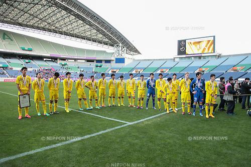 Kashiwa Reysol U-18 Team Group, <br /> December 14, 2014 - Football /Soccer : <br /> Prince Takamado Trophy U-18 Football League 2014 Championship <br /> between Kashiwa Reysol U-18 0-1 Cerezo Osaka U-18 <br /> at Saitama Stadium 2002, Saitama, Japan. <br /> (Photo by AFLO SPORT) [1205]