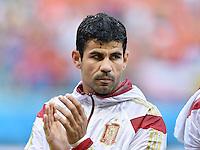 FUSSBALL WM 2014  VORRUNDE    Gruppe B     Spanien - Niederlande                13.06.2014 Diego Costa (Spanien)