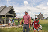 Brooks Koepka (USA) approaches the 1st tee during Saturday's round 3 of the 117th U.S. Open, at Erin Hills, Erin, Wisconsin. 6/17/2017.<br /> Picture: Golffile | Ken Murray<br /> <br /> <br /> All photo usage must carry mandatory copyright credit (&copy; Golffile | Ken Murray)