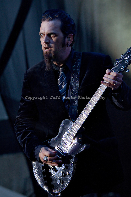 Three Days Grace live in concert at Pizza Hut Park during Edgefest 20 on May 1, 2010 in Frisco, TX.