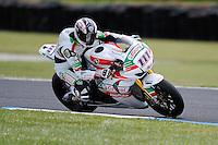 PHILLIP ISLAND, 27 FEBRUARY - Ruben Xaus (ESP) riding the Honda CBR1000RR (111) of the Castrol Honda Team during race one of round one of the 2011 FIM Superbike World Championship at Phillip Island, Australia. (Photo Sydney Low / syd-low.com)