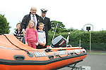 Stabannon Primary School pupils and headmaster when members of the Coastguard visited their school to give them a talk on water safety..Photo NEWSFILE/Jenny Matthews.(Photo credit should read Jenny Matthews/NEWSFILE)....This Picture has been sent you under the condtions enclosed by:.Newsfile Ltd..The Studio,.Millmount Abbey,.Drogheda,.Co Meath..Ireland..Tel: +353(0)41-9871240.Fax: +353(0)41-9871260.GSM: +353(0)86-2500958.email: pictures@newsfile.ie.www.newsfile.ie.FTP: 193.120.102.198.