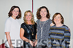 Gretel O'Sullivan, Beatrice Coleman, Therese Kissane and Eileen Lucey enjoying the craic  at the Irish Cancer society Strictly Come Dancing in the INEC on Friday night