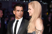 "Colin Farrell and Nicole Kidman<br /> arriving for the London Film Festival 2017 screening of ""Killing of a Sacred Deer"" at Odeon Leicester Square, London<br /> <br /> <br /> ©Ash Knotek  D3332  12/10/2017"