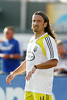 Gino Padula,.Columbus Crew defeated Kansas City Wizards 2-0 at Community America Ballpark, Kansas  City, Kansas.