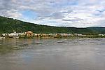 Dawson City, The Yukon Territory, Canada,  View from the Yukon River