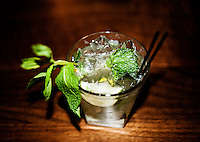 A mohito at a restaurant in Breckenridge, Colorado, Thursday, March 22, 2012...Photo by Matt Nager
