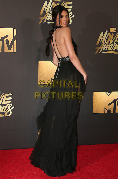 09 April 2016 - Burbank, California - Kendall Jenner. 2016 MTV Movie Awards held at Warner Bros. Studios. <br /> CAP/ADM/SAM<br /> &copy;SAM/ADM/Capital Pictures