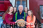 Members of the International Children's Games Basketball team are looking forward to heading to Lithuania in July. Pictured were: Mary O'Connell, Aoife Dilate, Mike Culloty (Chair ICG), Rebecca Conway and Rachel Kilgallen.