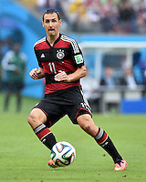 FUSSBALL WM 2014  VORRUNDE    GRUPPE G USA - Deutschland                  26.06.2014 Miroslav Klose (Deutschland) am Ball