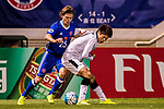 Shintaro Kurayama (r) of Kawasaki Frontale (JPN) competes for the ball with Jaimes McKee of Eastern SC (HKG) during the AFC Champions League 2017 Group G match between Eastern SC (HKG) and Kawasaki Frontale (JPN) at the Mongkok Stadium on 01 March 2017 in Hong Kong, China. Photo by Chris Wong / Power Sport Images