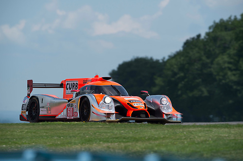 26-28 June, 2015, Watkins Glen, NewYork, USA<br /> 60, Honda HPD, Ligier JS P2, P, John Pew, Oswaldo Negri, Jr.<br /> ©2015, Richard Dole<br /> LAT Photo USA