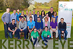 Playing around Teeing off at the Kerry Motor Neurone in Beaufort Golf Course on Friday was front l-r: Rebecca O'Sullivan, Rebecca Doyle. Middle row: John O'Mahony Kerry Motor Neurone, Bryan Sheehan, James O'Dowd, Tom Daly, Noreen Buckley, Donnacha Gallivan and Darren O'Sullivan. Back row: Michael O'Donoghue, Joesph O'Mahony, Steve O'Mahony, Peig, Deloras Shanahan, Teresp Klobxui, Brendan O'Mahony, Sheila Casey, Regina Cunningham, Louise Casey, Mike Lucey, Linda Casey