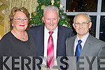 Mary O'Reilly, Billy O'Sullivan and Jerry O'Sullivan at the Heartbeat Thanksgiving dinner in the Killarney Park hotel on Thursday night.....   Copyright Kerry's Eye 2008