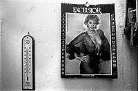 calendario rivista Excelsior 1989 con Alessandra Mussolini
