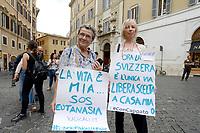 Eutanasia Legale, radicali a Montecitorio