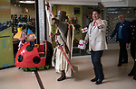 St Georges Day 23rd April 2019, Dartford Kent, parade through shopping centre off the high street, Councillor David Mote and town hall dignitaries. 2010s