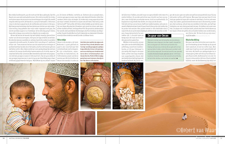 National Geographic Traveler - Oman, May 2010