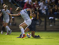 STANFORD, CA - August 24, 2018: Kiki Pickett at Laird Q. Cagan Stadium. The Stanford Cardinal defeated the USF Dons 5-1.