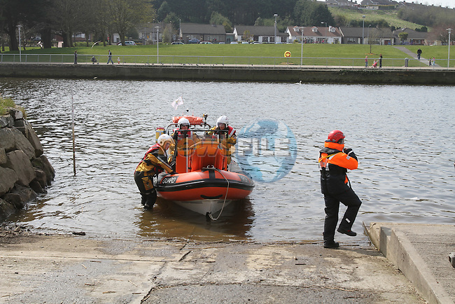 Pictures of combines exercise witht he Drogheda unit Irish coast Guard and Local order of Malta Unit..Picture Fran Caffrey/Newsfile.ie