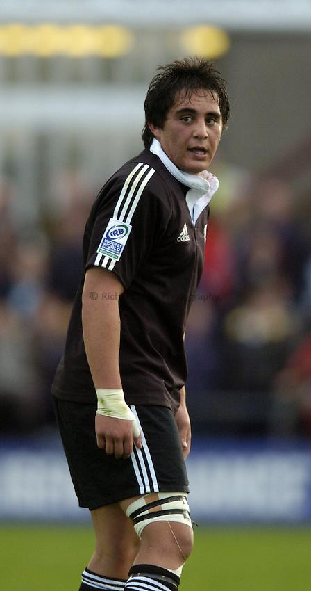 Photo. Jed Wee..England U21 v New Zealand U21, IRB U21 World Championship, 11/06/2004..New Zealand's Jonathon Poff.