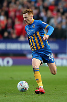 Jon Nolan of Shrewsbury Town in action during Charlton Athletic vs Shrewsbury Town, Sky Bet EFL League 1 Play-Off Football at The Valley on 10th May 2018
