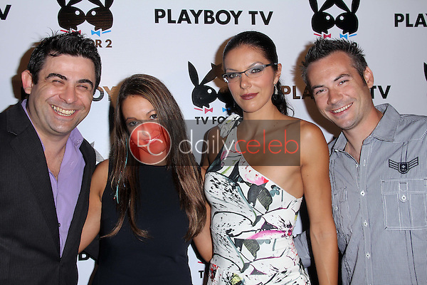 Phil Viardo, Krystel Hope, Adrianne Curry, Brian Galperin<br />