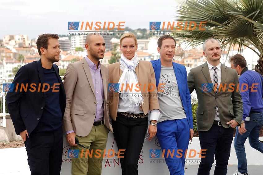 Uma Thurman, Reda Kateb<br /> Cannes 18-05-2017 70&deg;Edizione Festival del Cinema di Cannes. <br /> Foto Panoramic / Insidefoto