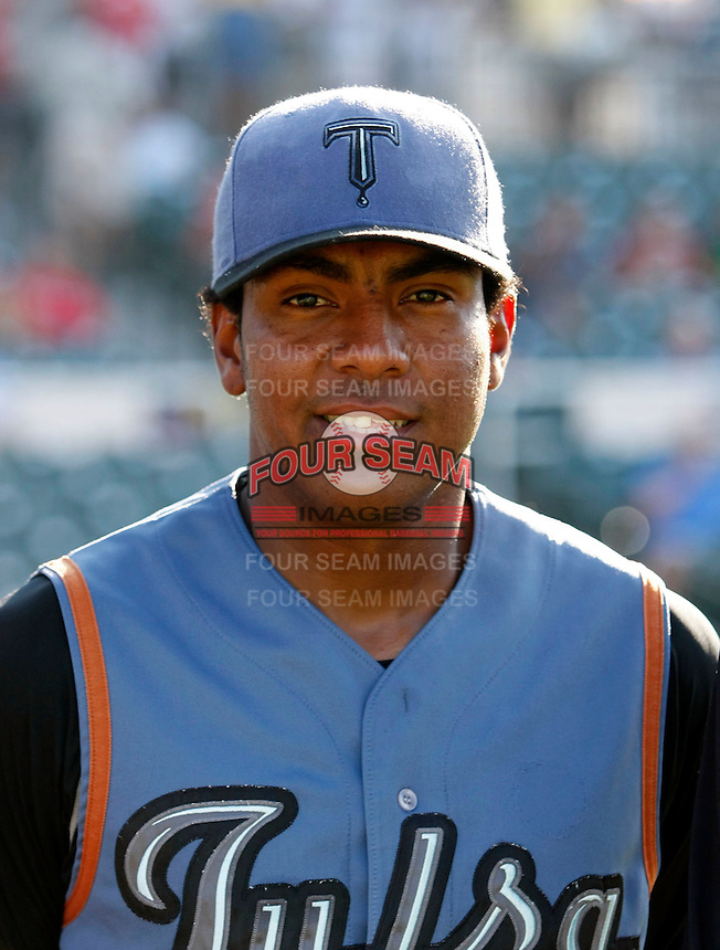 Daniel Mayora - Tulsa Drillers.2009 Texas League All-Star game held at Dr. Pepper Ballpark, Frisco, TX - 07/01/2009. The game was won by the North Division, 2-1..Photo by:  Bill Mitchell/Four Seam Images