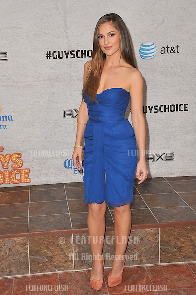 Minka Kelly at Spike TV's Guys Choice Awards 2011 at Sony Studios, Culver City, CA..June 4, 2011  Los Angeles, CA.Picture: Paul Smith / Featureflash