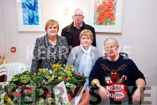 Hannah and Eddie O'Flaherty with Anne-Marie and Michael McCarthy, pictured at Tralee Art Group Sale of Work at Baile Mhuire on Sunday last.