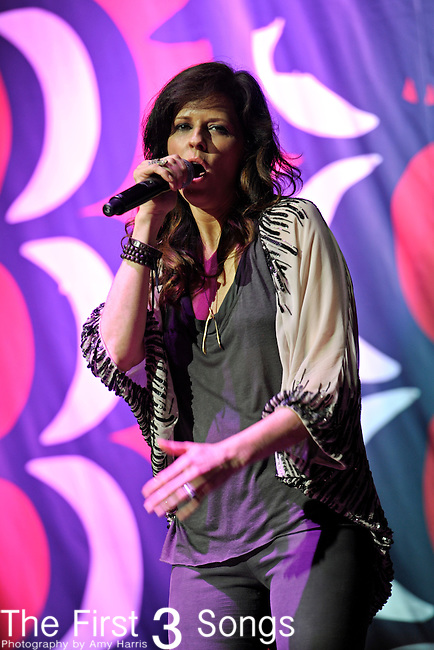 Karen Fairchild of Little Big Town performs at Blossom Music Center on May 13, 2011 in Cleveland, Ohio.