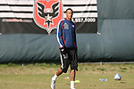 16 November 2007: Khano Smith (BER). The New England Revolution practiced at the RFK Stadium Auxiliary Field in Washington, DC two days before playing in MLS Cup 2007, Major League Soccer's championship game.