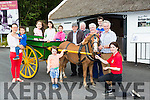 Launching the Kerry Bog pony National Show and Sale which will be held in the Kerry Bog Village on the 20th august were l-r: Chris, John, Maria, Scarlett and Emily Mulvihill, Charlie Sheehan, Michael Teahan Snr, tony Knightly, Timmy Mulvihill, Anna McCarthy, John Mullivhill and Yvonne Sheehan