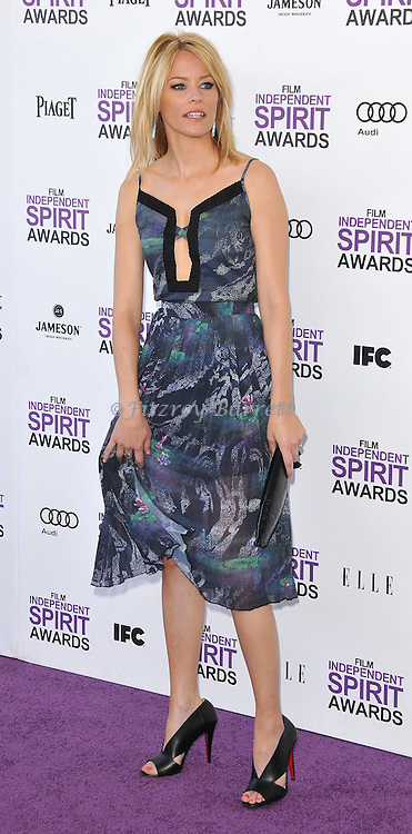 Elizabeth Banks at the 2012 Film Independent Spirit Awards held at Santa Monica Beach, CA. February 25, 2012
