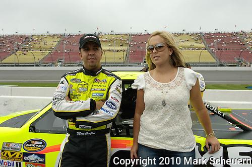 June 12 2010: Matt Crafton during qualifying for the NASCAR Camping World Truck Series VFW 200 at Michigan International Speedway, Brooklyn, Michigan
