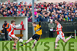 Emmets Micheal Lynch at the Brosna V Listowel Emmets North Kerry Senior Championship final replay at  Bob Stack Park, Ballybunion on Saturday