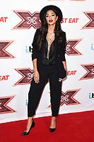 Nicole Scherzinger at the &quot;X Factor&quot; 2017 series launch at the Picturehouse Central, London, UK. <br /> 30 August  2017<br /> Picture: Steve Vas/Featureflash/SilverHub 0208 004 5359 sales@silverhubmedia.com