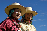 Traditional Tibetan dress up in their finest and wearing their most precious Jewelry during this festival. The most common gem stones are worn in the jewelry are Turquoise and red coral..Changtang Chachen Horse Race Festival (August 10th) is the most important festival in northern Tibet during the golden season on the grassland. Thousands of herdsmen throng to Nakchu riding fine horses and carrying local products. They erect a tent city south of Nakchu town. They celebrate with a thrilling horse race, archery contests, and demonstrations of horsemanship. Song-and-dance troupes from all parts of Tibet add to the festivity. It is said that this is the highest horse racing festival in the world, at 4800 meters.