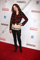 LOS ANGELES - FEB 20:  Sarah Drew arrives at the 24 Hour Hollywood Rush at Ebell Theater on February 20, 2011 in Los Angeles, CA