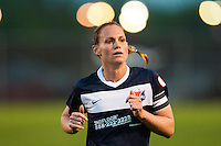 Sky Blue FC defender Christie Rampone (3). Sky Blue FC and the Chicago Red Stars played to a 1-1 tie during a National Women's Soccer League (NWSL) match at Yurcak Field in Piscataway, NJ, on May 8, 2013.