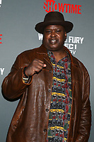 "LOS ANGELES - DEC 1:  Buster Douglas at the Heavyweight Championship Of The World ""Wilder vs. Fury"" - Arrivals at the Staples Center on December 1, 2018 in Los Angeles, CA"