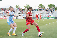 Boyds, MD - Saturday June 03, 2017: Kealia Ohai, Shelina Zadorsky during a regular season National Women's Soccer League (NWSL) match between the Washington Spirit and Houston Dash at Maureen Hendricks Field, Maryland SoccerPlex.