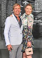 BERLIN, ALEMANHA, 17.07.2017 - PREMIERE-BERLIN - Steve Norman e sua parceira Sabrina Winter  durante premiere de Atomic Blonde em Berlin na Alemanha ontem segunda-feira, 17. (Foto: Timm/Brazil Photo Press)