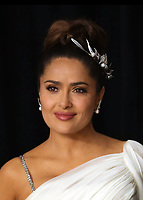09 February 2020 - Hollywood, California - Salma Hayek attends the 92nd Annual Academy Awards presented by the Academy of Motion Picture Arts and Sciences held at Hollywood & Highland Center. Photo Credit: Theresa Shirriff/AdMedia