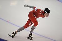 SCHAATSEN: HEERENVEEN: IJsstadion Thialf, 11-01-2013, Seizoen 2012-2013, Essent ISU EK allround, 5000m Men, Sverre Lunde Pedersen (NOR), ©foto Martin de Jong